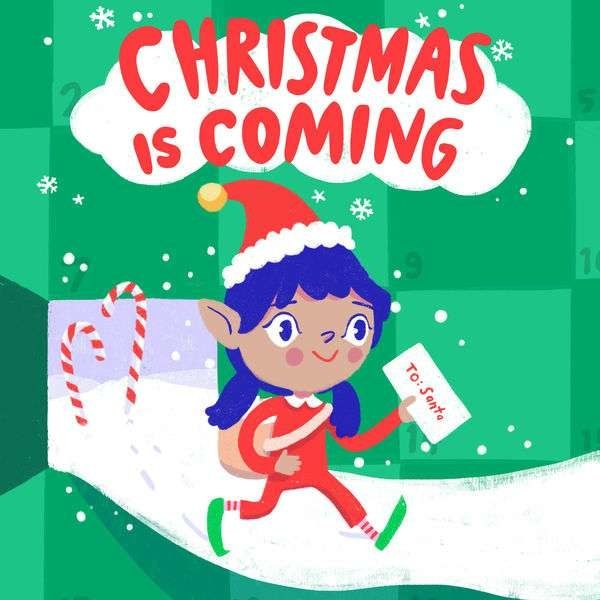 Christmas Elf On The Shelf Movie Cartoon Collectible 6 Note pads New in package