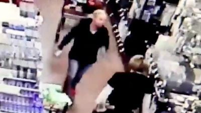 WATCH: Woman reportedly hauls off and slaps grocery store employee after the worker asks her to mask up