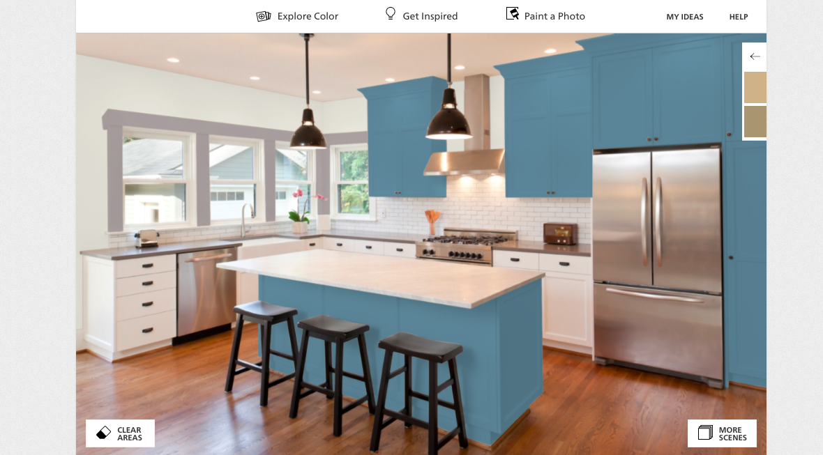 7 House Paint Apps That Virtually Test Colors In Your Home Gearbrain