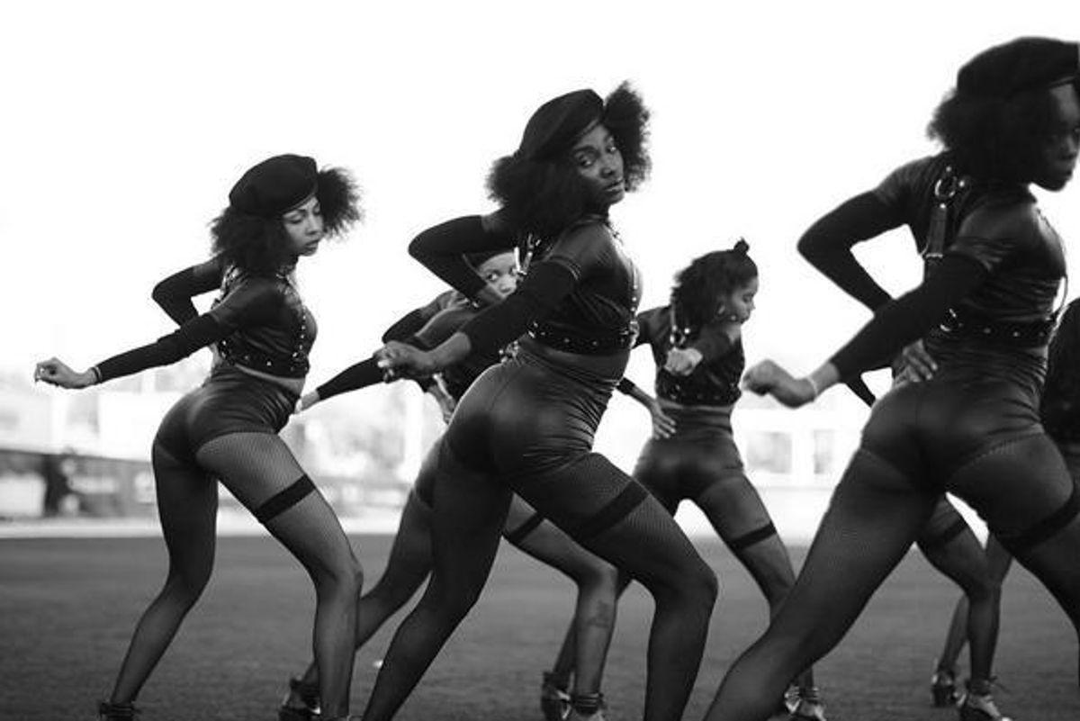Beyoncé's Super Bowl Dancers Paid Homage to Black Lives Matter