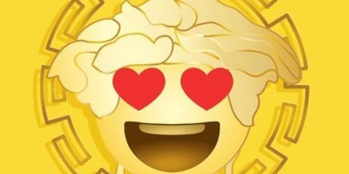Versace Now Has An Emoji App