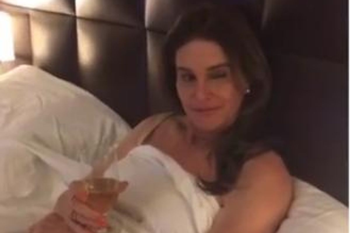 See Caitlyn Jenner's Appearance In the Latest Twist Of Kylie Jenner's Epic SnapChat Movie