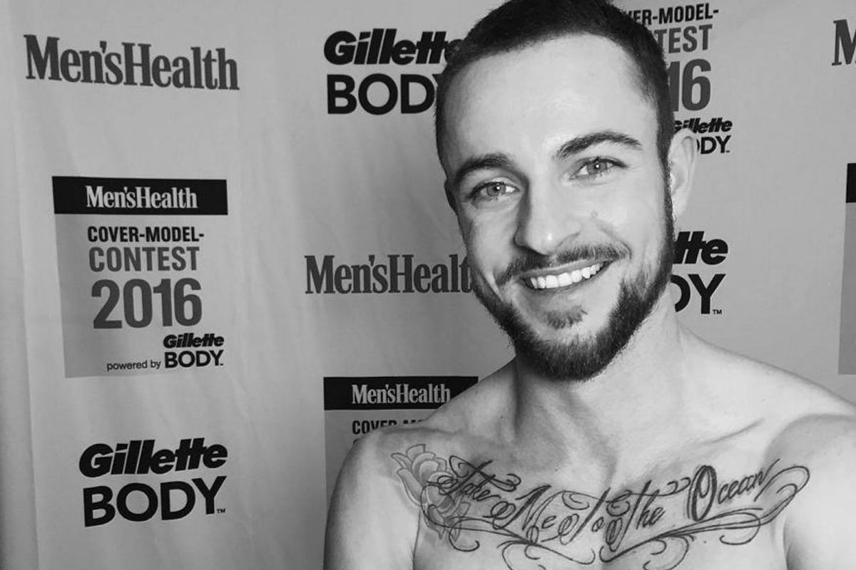 German Fitness Model Will Be The First Trans Man On Men's Health's Cover