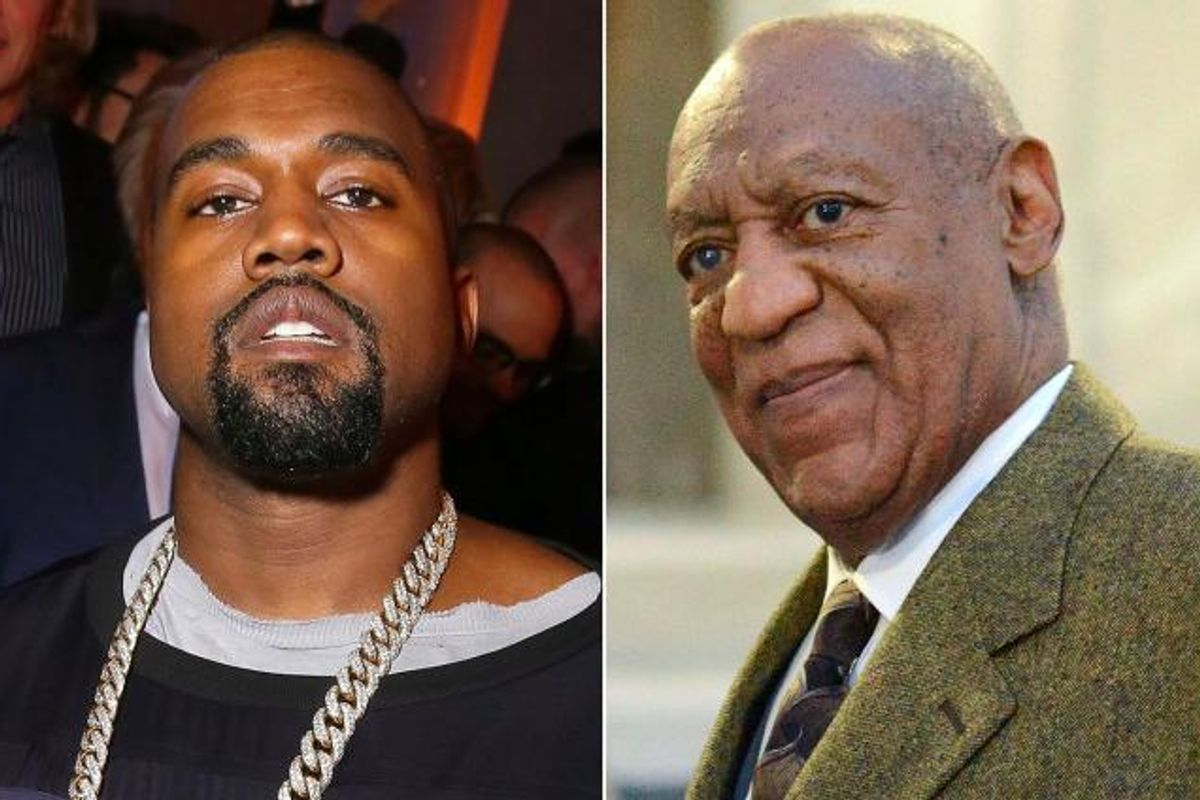 Kanye West Weighed In On the Bill Cosby Controversy