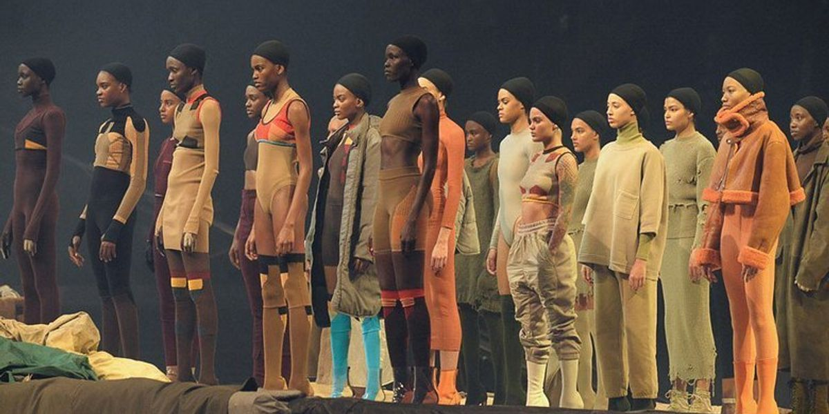 Kanye West's Yeezy Season 3 Presentation Was The Ultimate Dystopian House Party