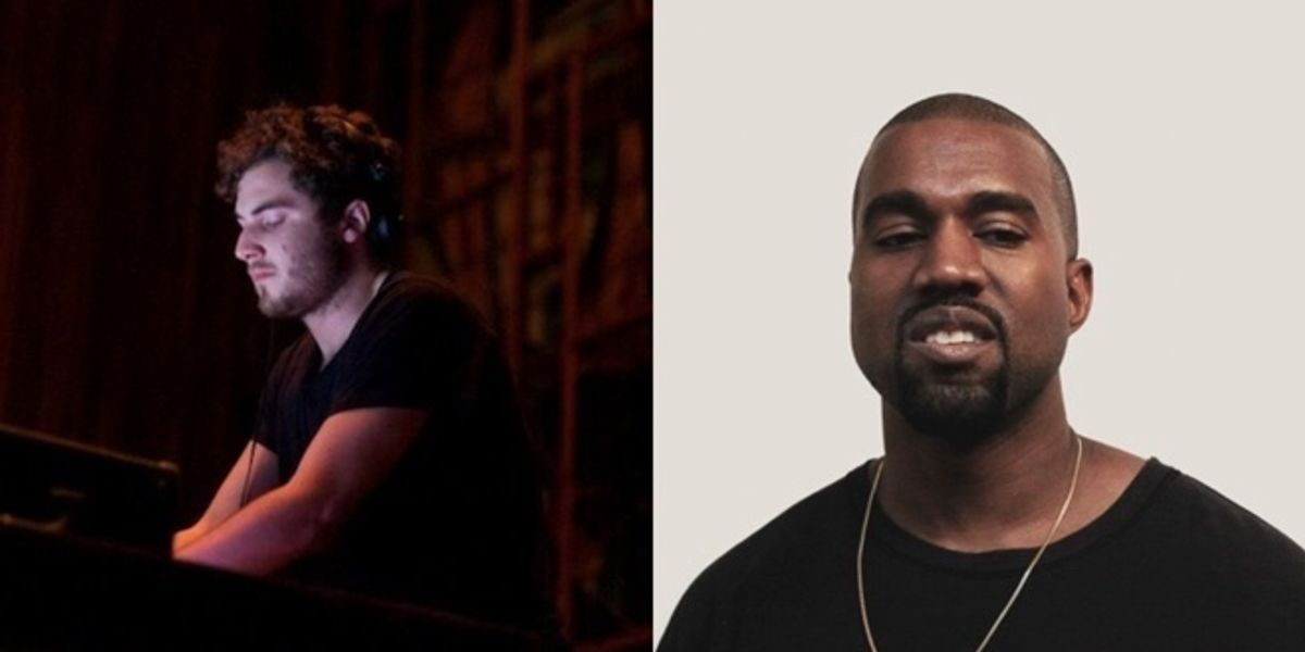 Listen to a Nicolas Jaar Remix of Kanye's 'Blood On the Leaves'