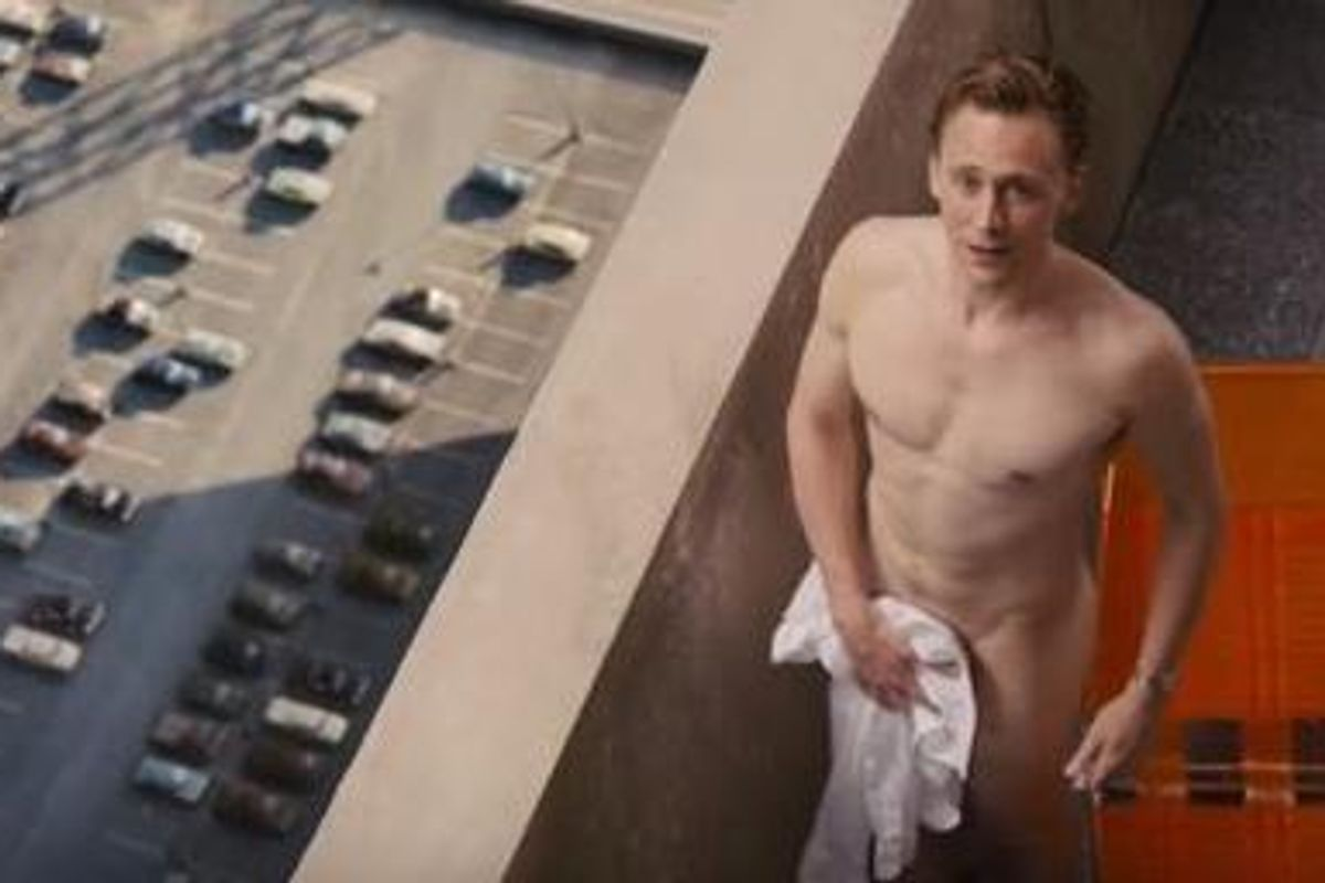 Watch The Newest Official For the HIGH-RISE Trailer, Featuring a Nearly-Naked Tom Hiddleston