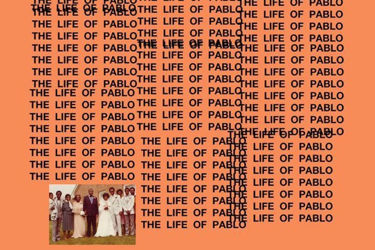 "Create Your Own ""The Life Of Pablo"" Cover With This Online Generator"