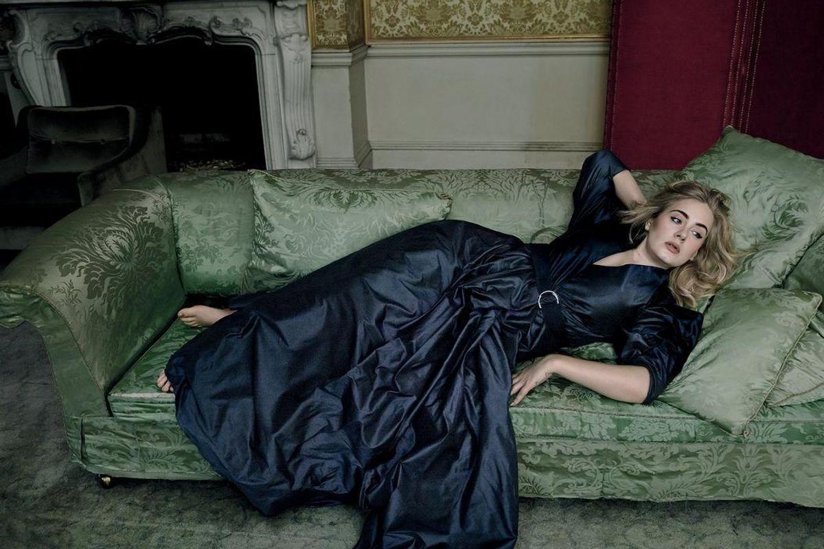 Peep Through the Amazing Photos of Adele in Spring VOGUE, Shot by Annie Leibovitz