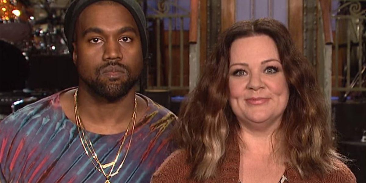 Watch Melissa McCarthy & Kanye West Slay SNL