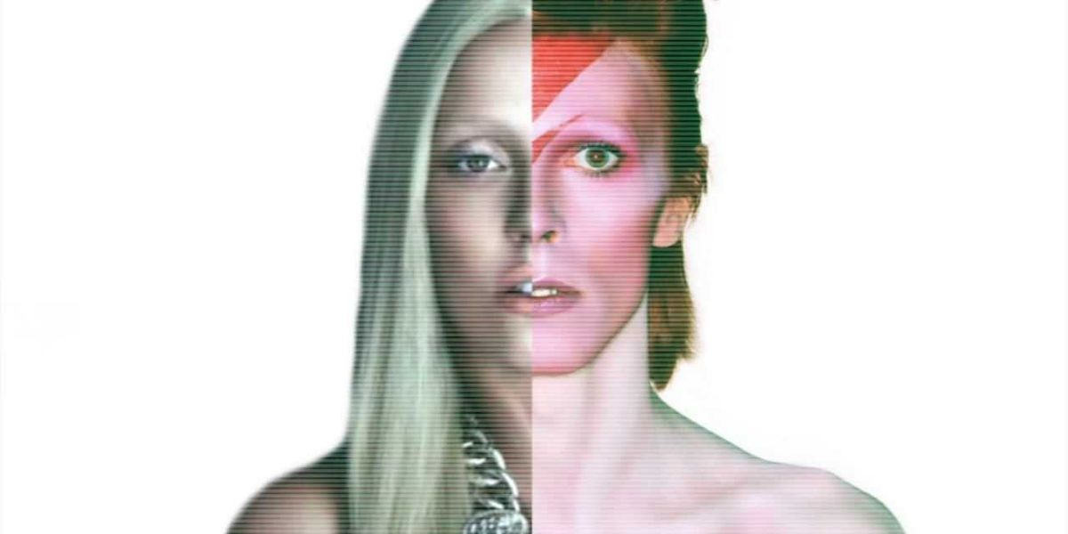 Lady GaGa Got David Bowie's Face Tattooed On Her Torso