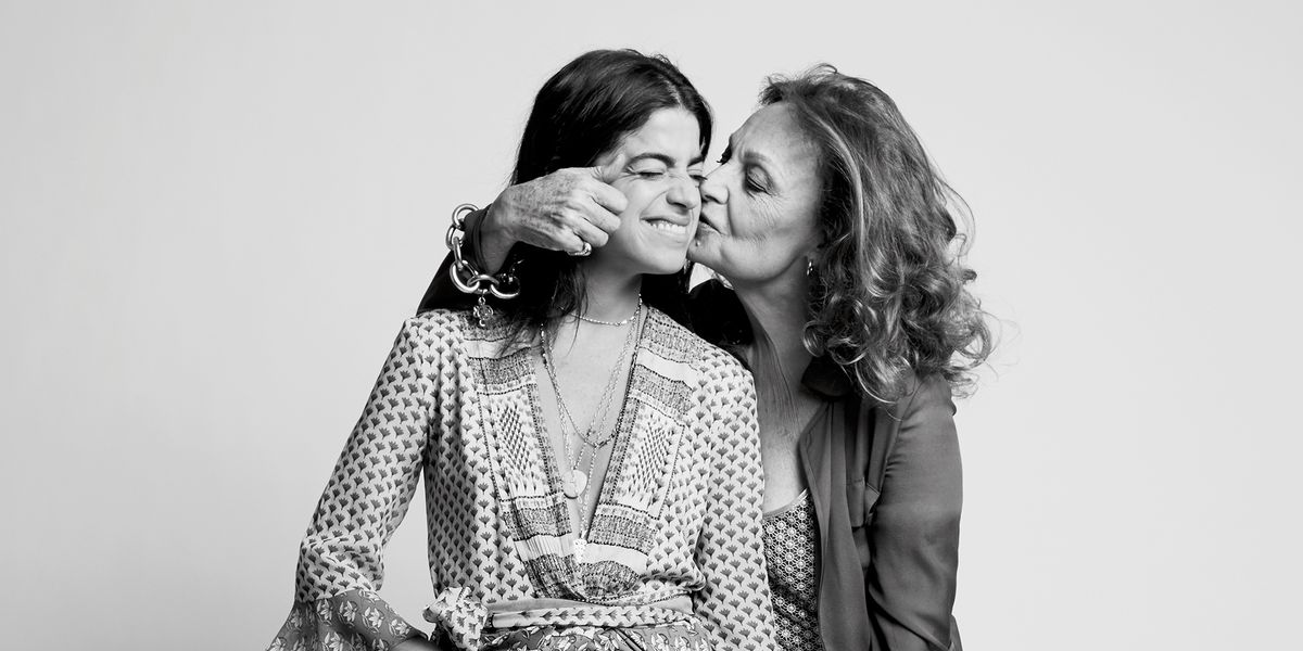 """""""I Have Never Met a Woman Who Is Not Strong"""": Diane von Furstenberg and Leandra Medine In Conversation"""