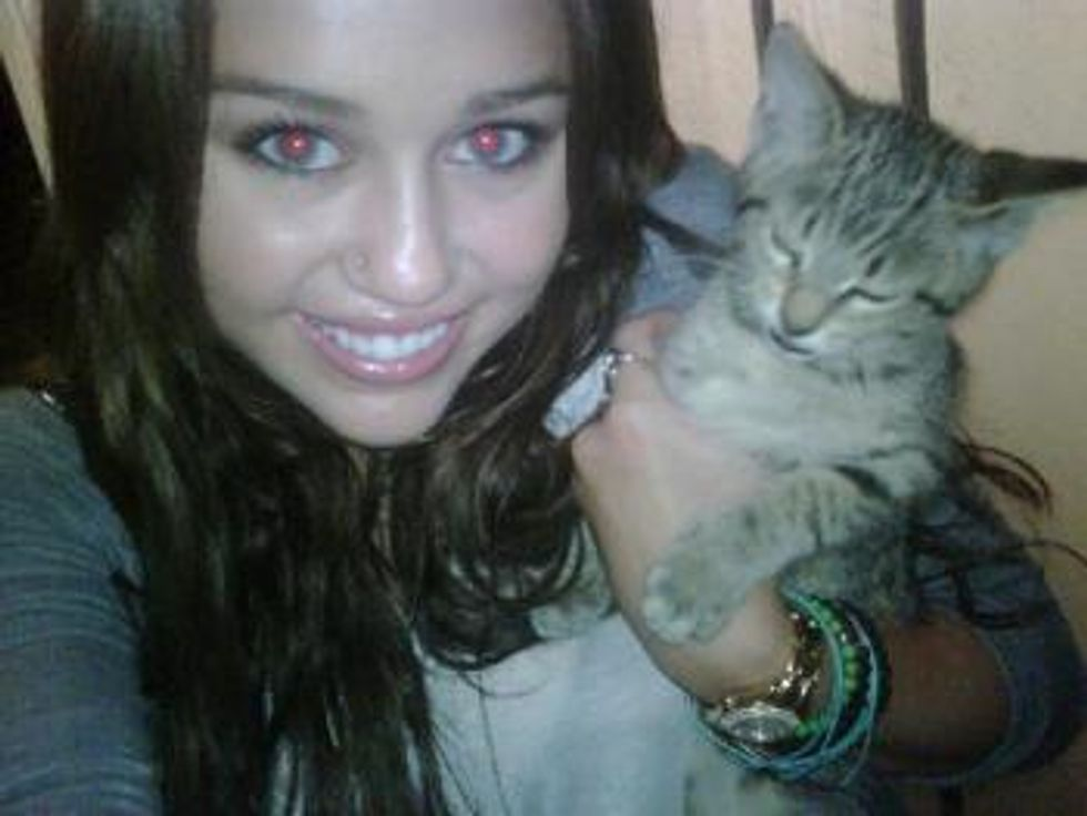 Miley Cyrus Greatest Joy for Kittens