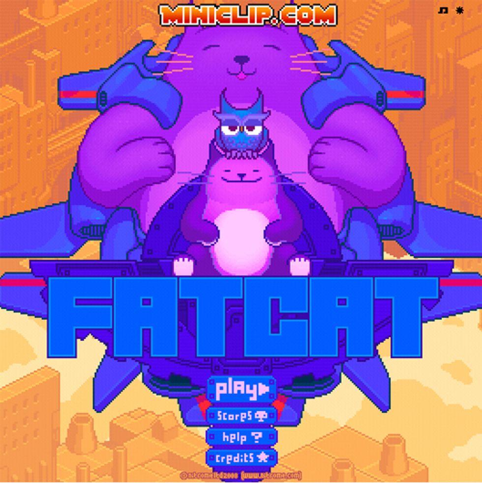Game: Fat Cat