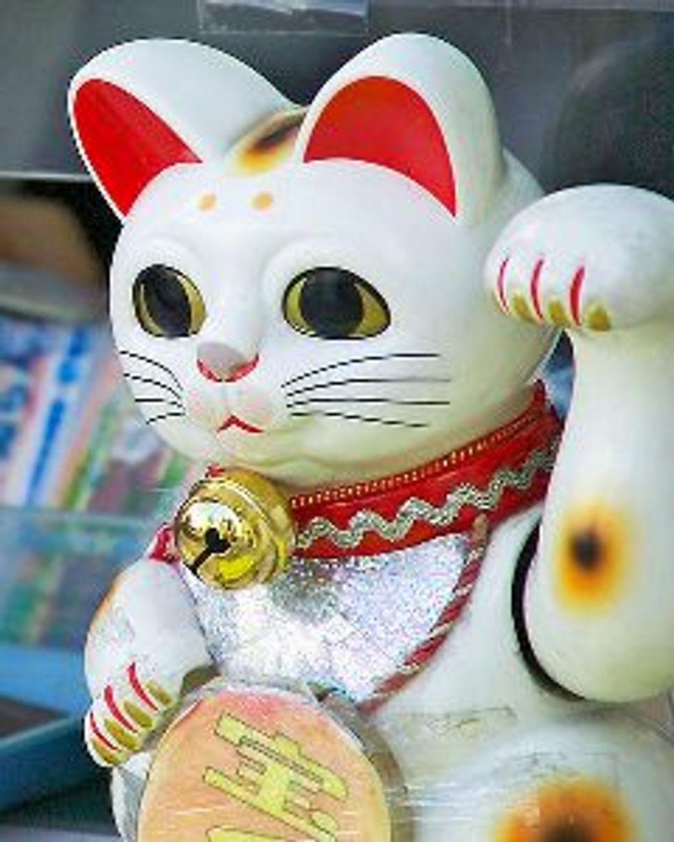 Maneki Neko - Beckoning, Lucky Cat