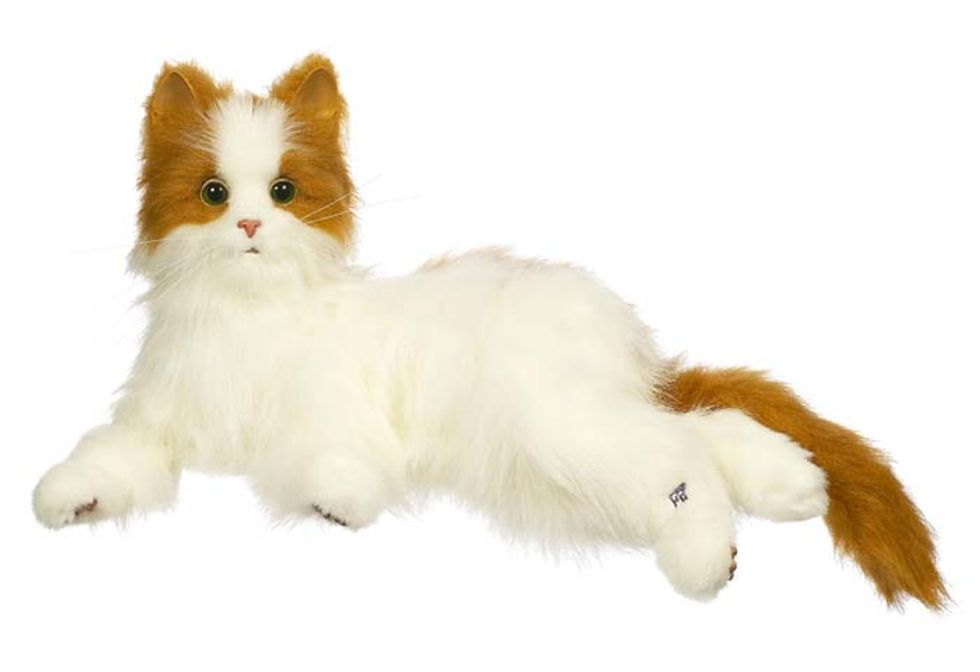 Review Furreal Friends Lulu a Robotic Kitten Cat Toy