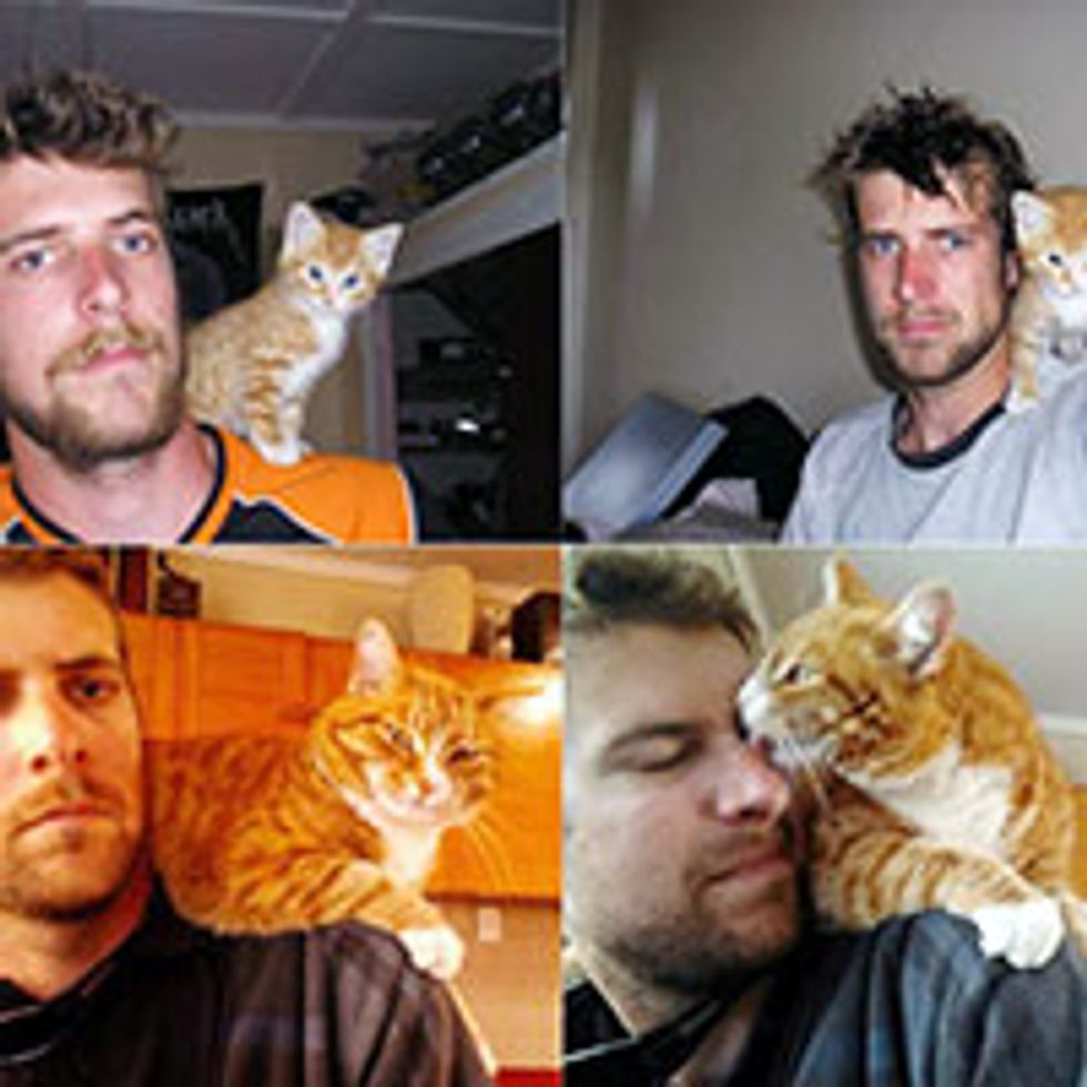 Shoulder Kitty for 5 Years