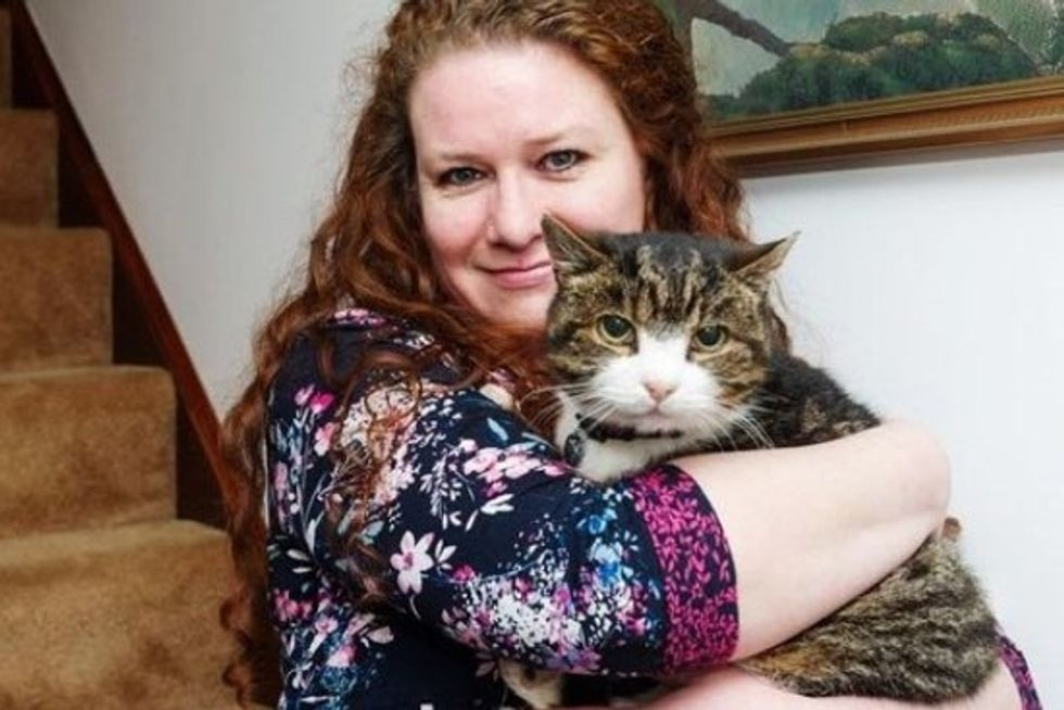 Missing Cat Reunited With His Owner After 12 Years