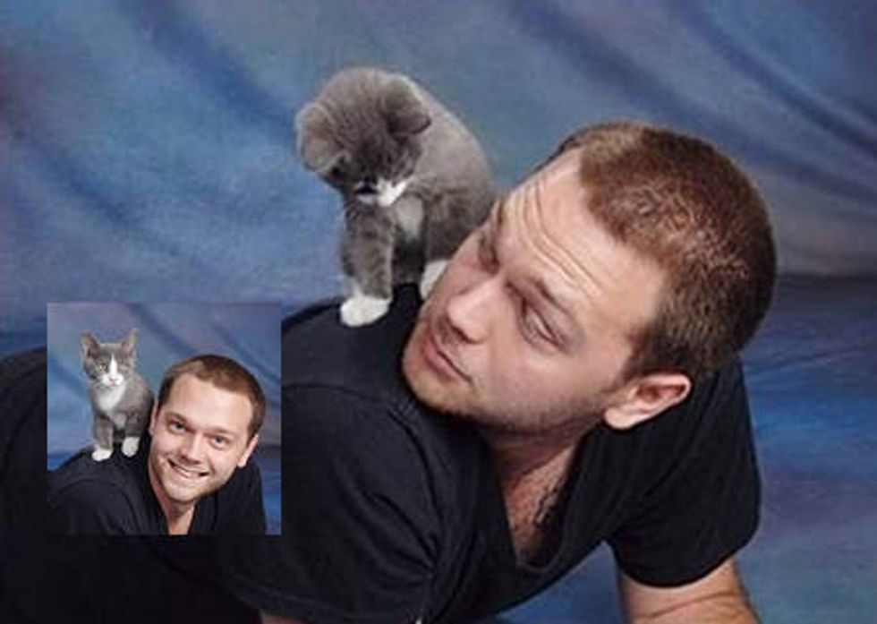 Man Used A Groupon To Give His Kitten A Photo Shoot At J.C. Penney