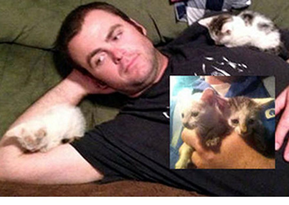Oilfield Worker Rescues Kittens And Gives Them A Home
