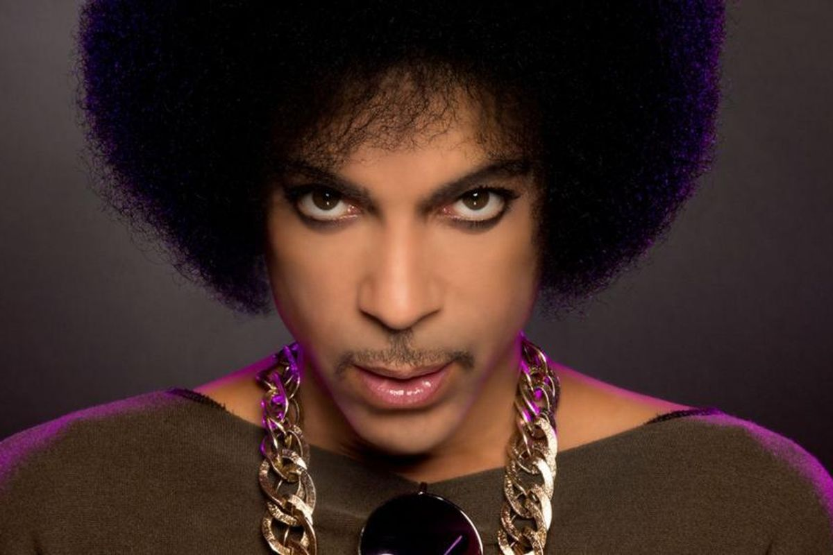 There's A Blinding, Silken Lamb's Head In Prince's New Passport Photo