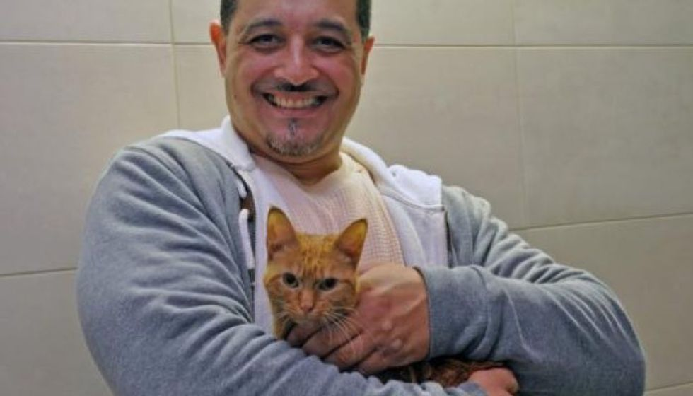 Correction Officer Saves Kitten Just in Time for the Holidays!