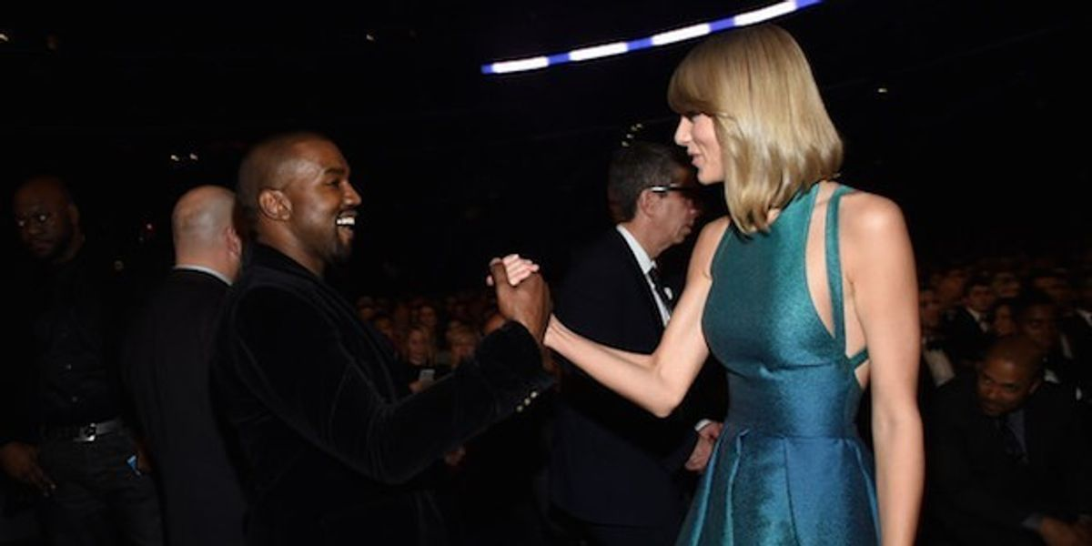 """Kanye Addresses Taylor Swift B33F: """"I Want the Best For That Person"""""""