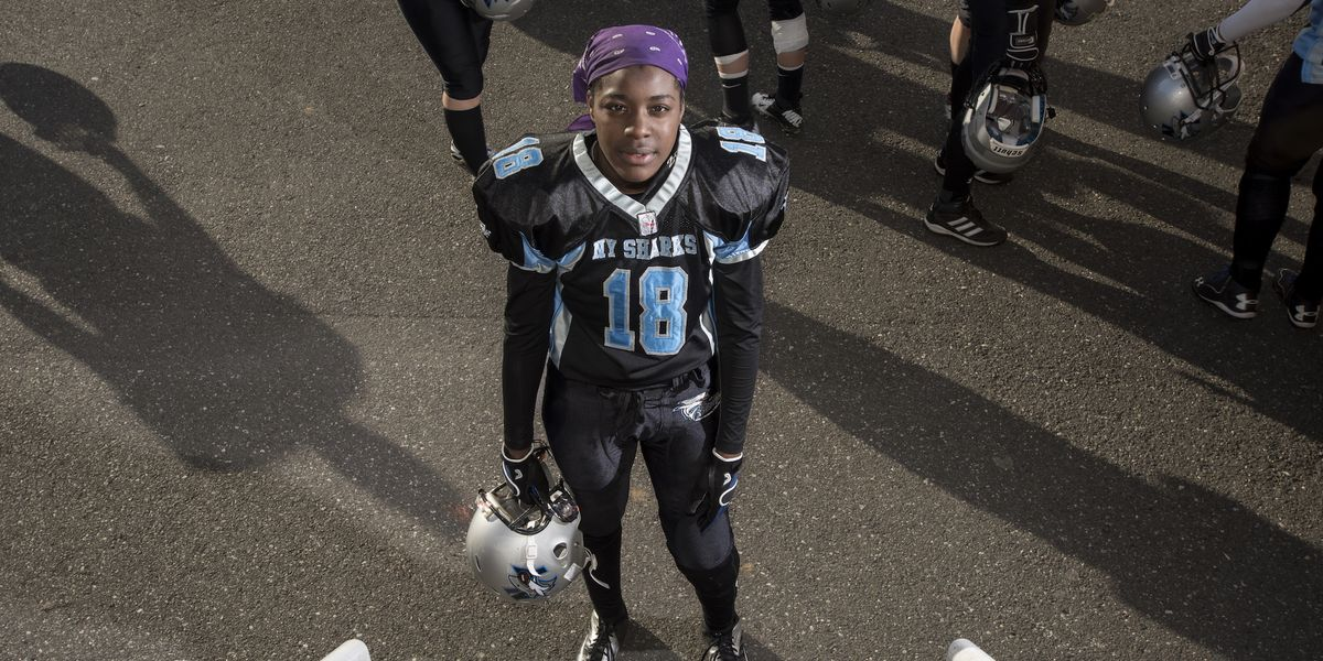 """We Talk to the Photographer Behind """"Women of the Gridiron"""""""