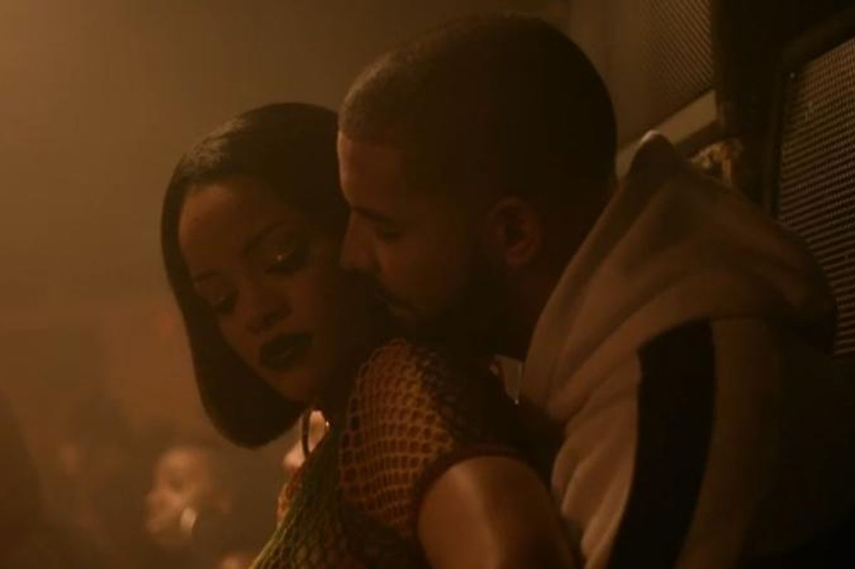 Watch a $exy Preview For Rihanna's 'Work' Video, Featuring Drake