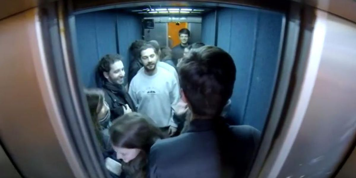 Shia LaBeouf Punched A Fan In the Face During His Recent Elevator Stunt