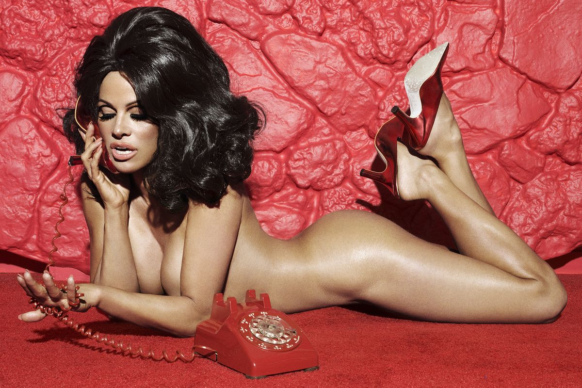 Pamela Anderson Models Her New Cruelty-Free Shoes (and Not Much Else)
