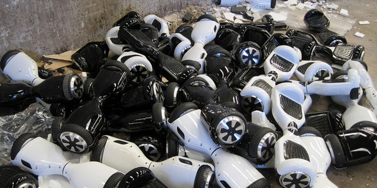 The Future Is Dead at the Hoverboard Graveyard in England