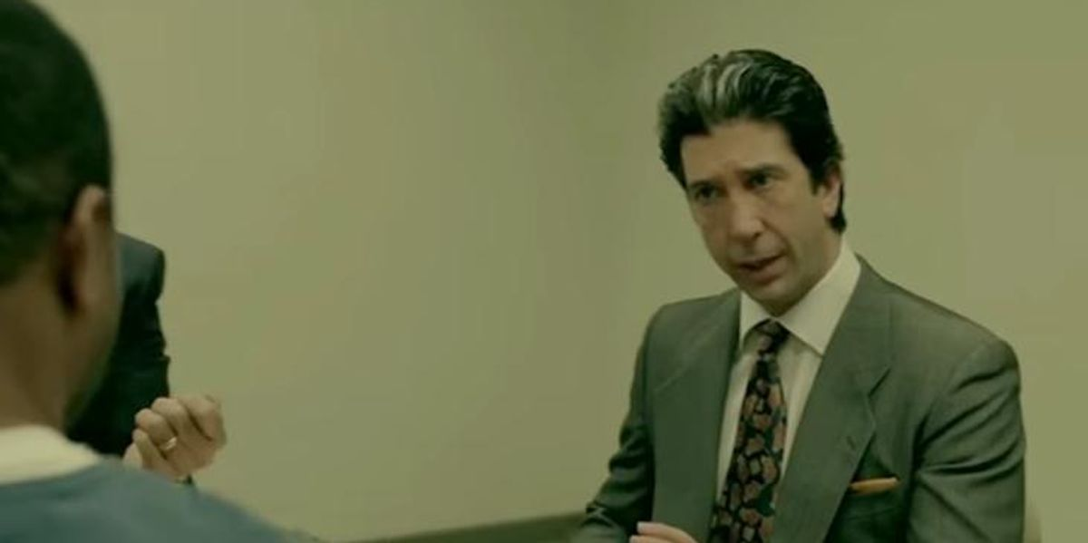 """Enjoy David Schwimmer's Hypnotic Repetition of """"Juice"""" in This American Crime Story Supercut"""