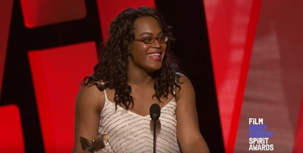 Watch Mya Taylor's Incredible Acceptance Speech At the Independent Spirit Awards