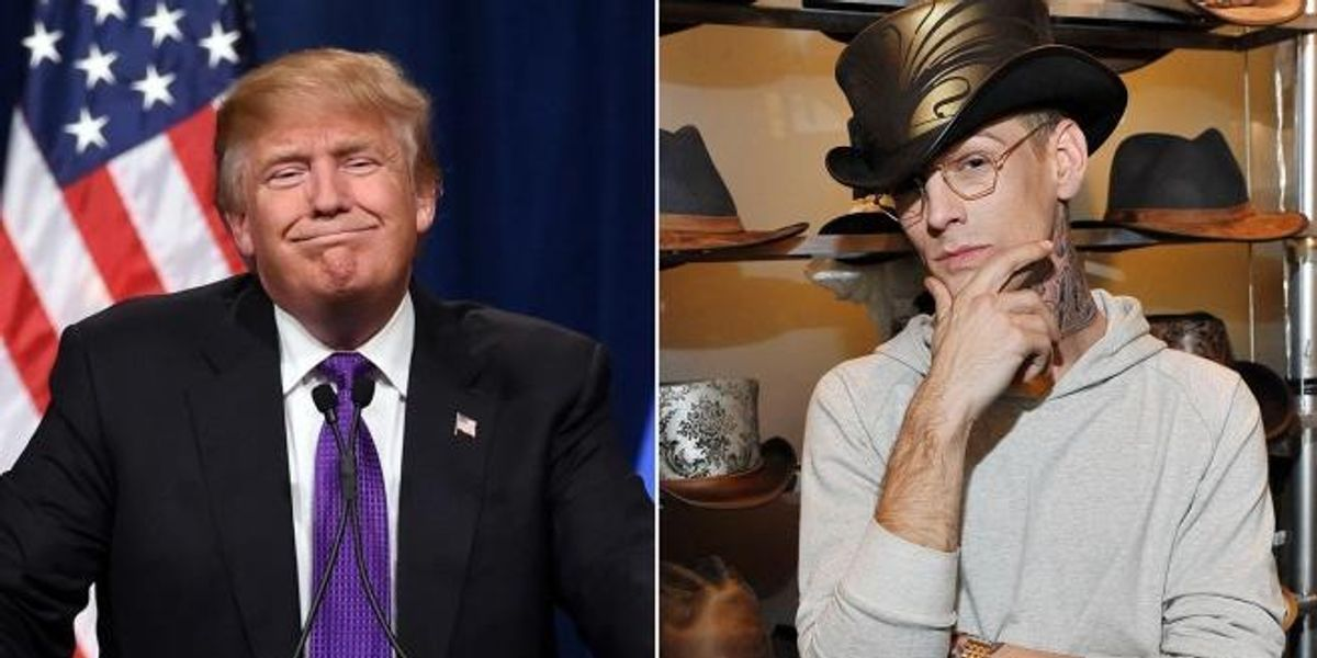 Aaron Carter Endorses Donald Trump On Twitter, Because The Universe Is A Swallowing Itself