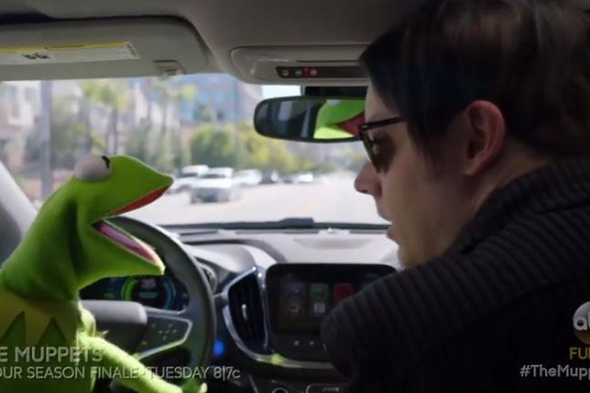 "Watch Jack White Sing ""Fell In Love With A Girl"" With Kermit the Frog"