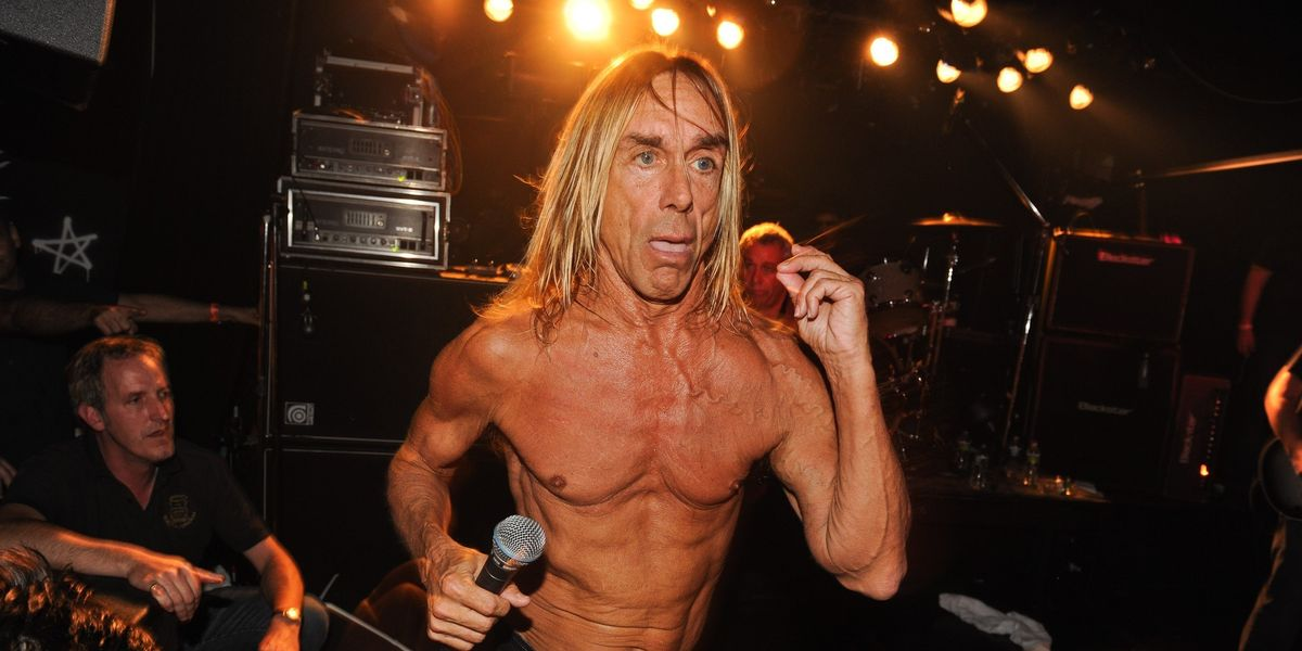 Iggy Pop Played Muse As A Nude Model Last Weekend
