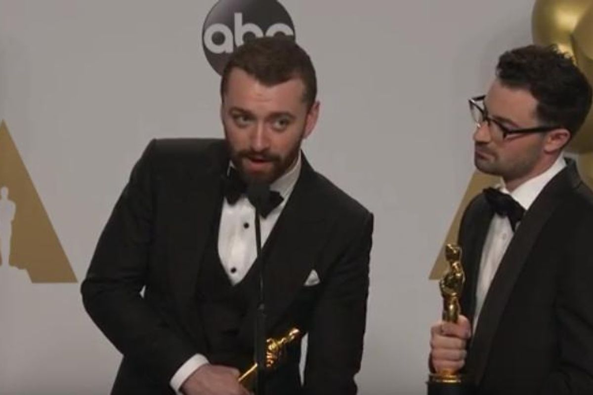 Sam Smith Made a Glib Comment About A Previous Openly Gay Oscar Winner Who Died of AIDS