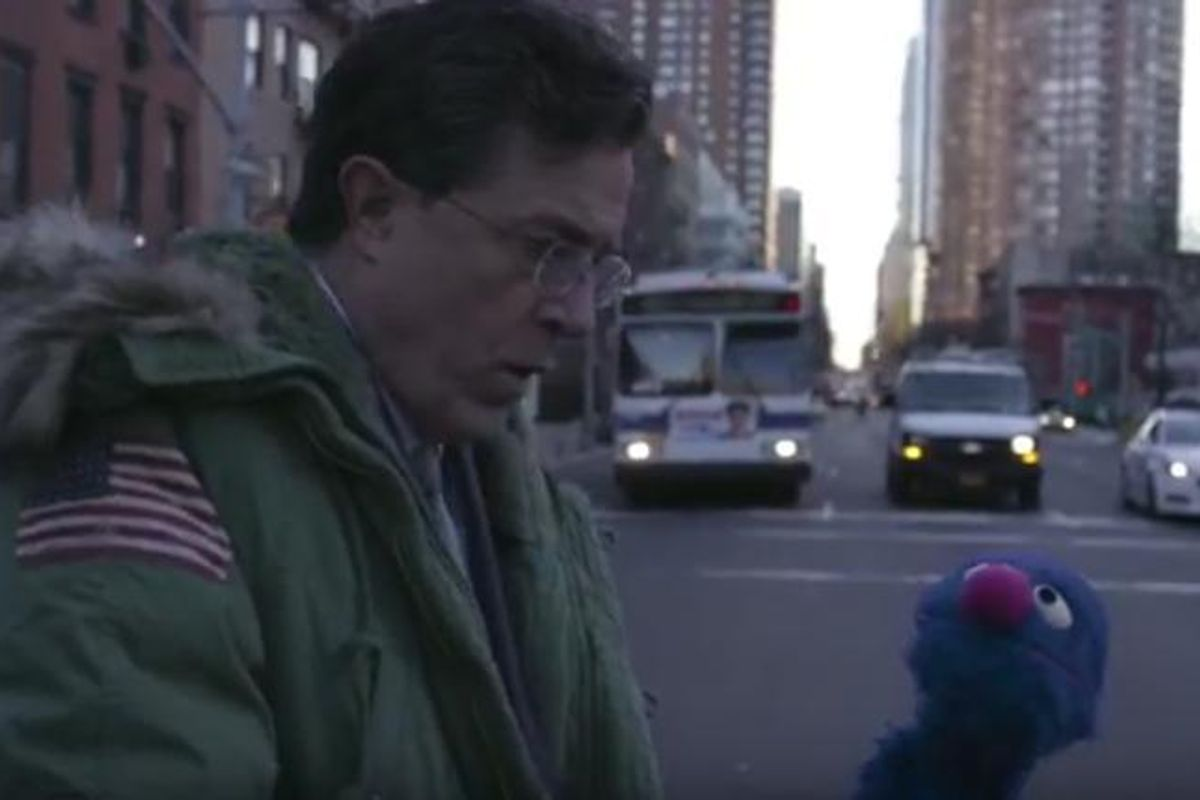 Watch this Spike Jonze-Directed Intro For Late Show with Stephen Colbert