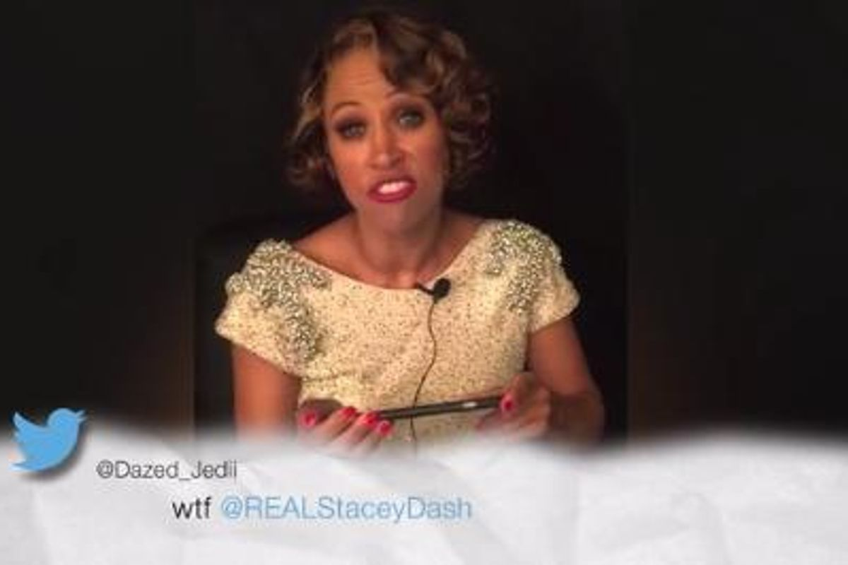 Stacey Dash Reads Mean Tweets In Response To Her Brutally Awkward Oscars Cameo