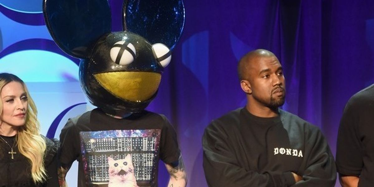 Kanye West Unleashes Hilarious Hell On DeadMau5