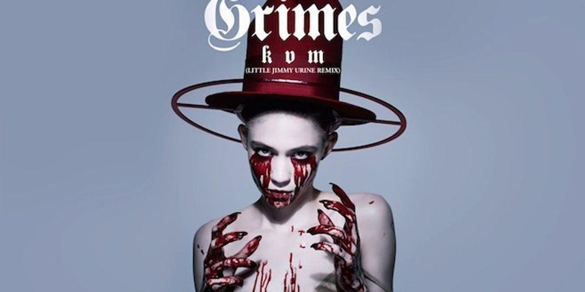 "Listen To Jimmy Urine's Wild Remix Of Grimes's ""Kill V. Maim"""