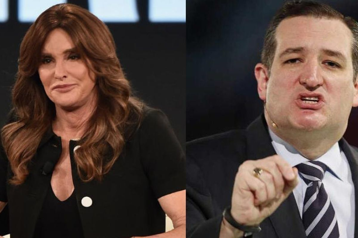 "Caitlyn Jenner Says She Wants to Be Ted Cruz's ""Trans Ambassador"""
