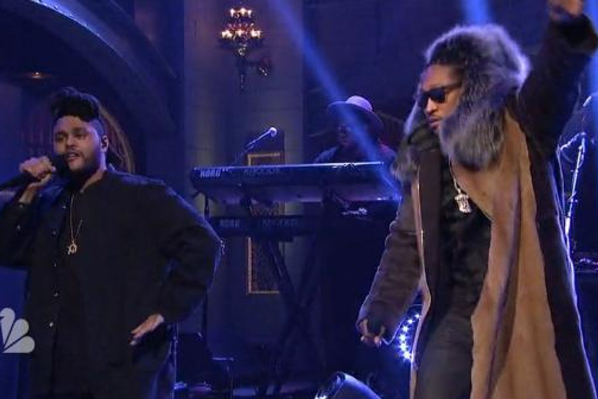 Watch Future & The Weeknd Perform 'Low Life' On SNL