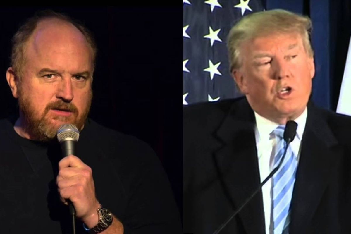 """Louis CK Joins the """"I Think Donald Trump is Hitler"""" Club"""