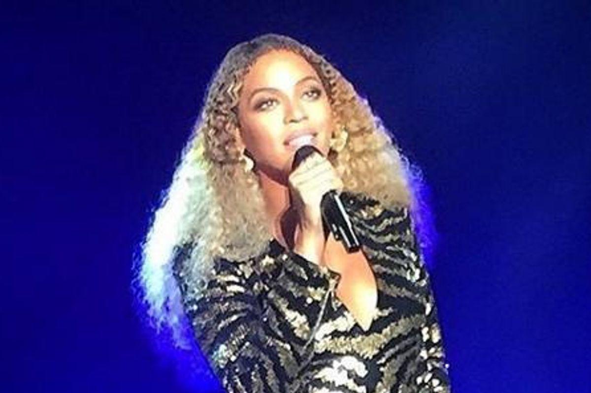 Watch Beyonce Rock Blue Ivy's Elementary School Fundraiser