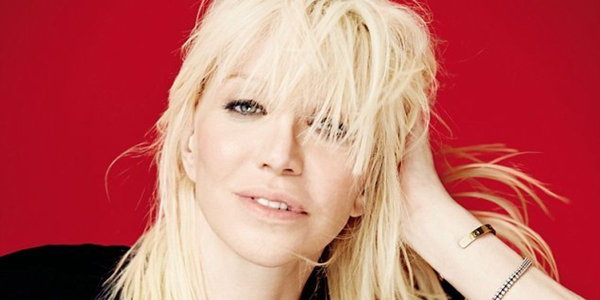 """Watch Courtney Love Cover PJ Harvey's """"To Bring You My Love"""""""