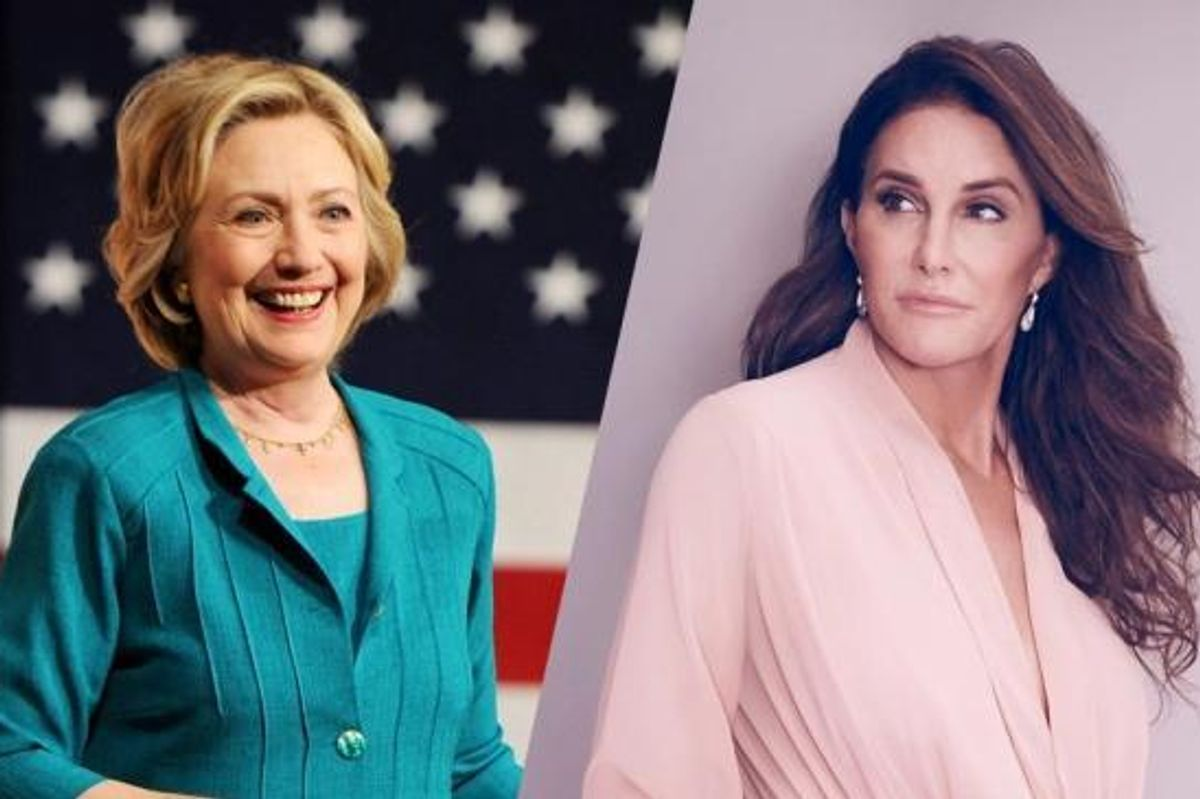 "ICYMI: Caitlyn Jenner Said Hillary Clinton ""Could Care Less About Women"""