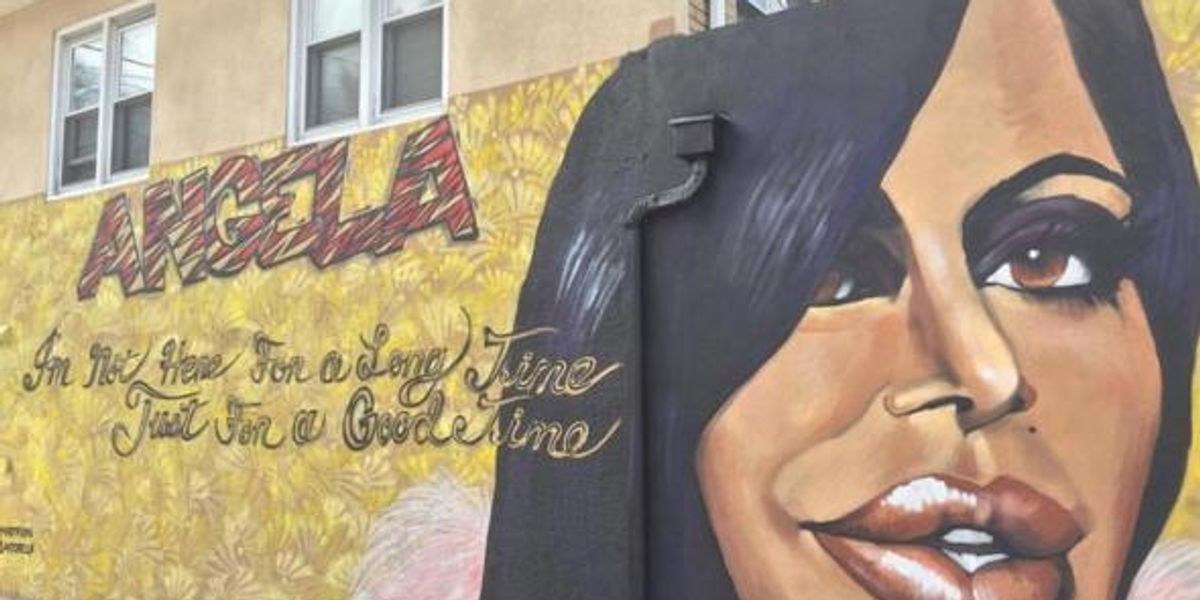 Let This Mural of Big Ang Warm Your Weary Heart