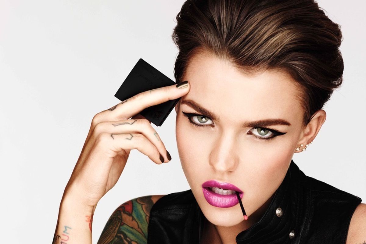 "Urban Decay Taps ""Orange Is the New Black"" Actress Ruby Rose As Their New Brand Ambassador"